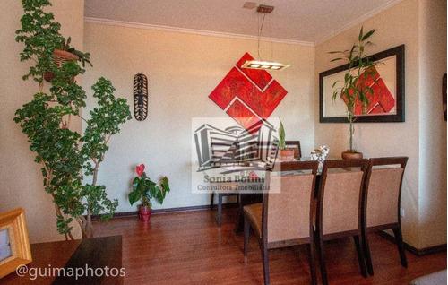 Imagem 1 de 18 de Apartamento À Venda, 58 M² Por R$ 425.000,00 - Mooca - São Paulo/sp - Ap0160