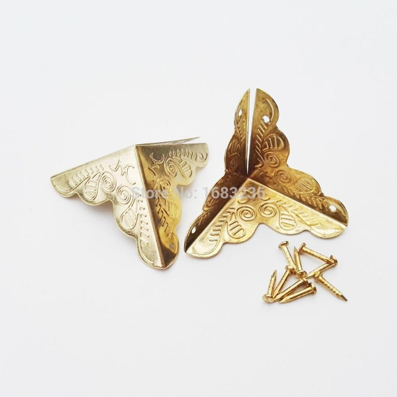 Cantoneira, Canto Para Caixa De Mdf, Artesanato Ouro