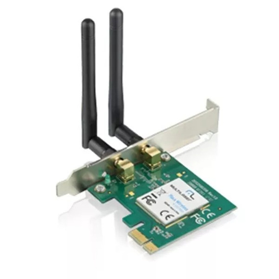 Placa De Rede Wireless Pci-express 300mbps Re049 Multilaser