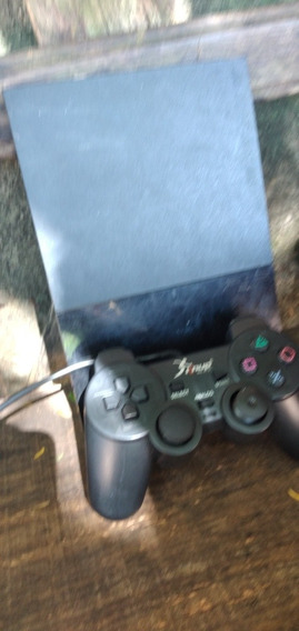 Playstation 2 + 1 Controle + Jogos