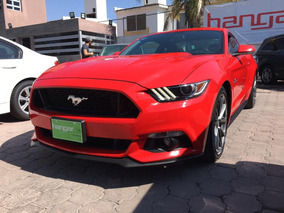 Ford Mustang 5.0l Gt V8 At 2016 Rojo Hangar
