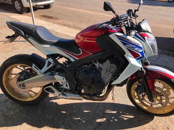 Moto Honda Cb 650f Novissima (hornet)