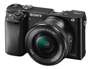 Cámara Profesiona Sony De 24.3mp Montura E - Ilce-6000l