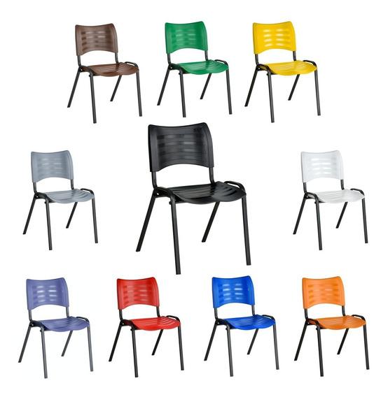 Cadeira Iso Plastica Empilhável, Várias Cores