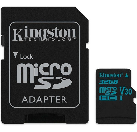 Cartao Micro Sd Kingston Canvas Go Microsd 32gb