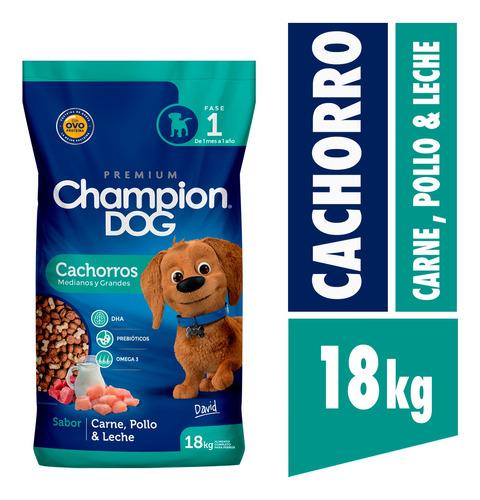 Champion Dog Cachorro 18 Kg