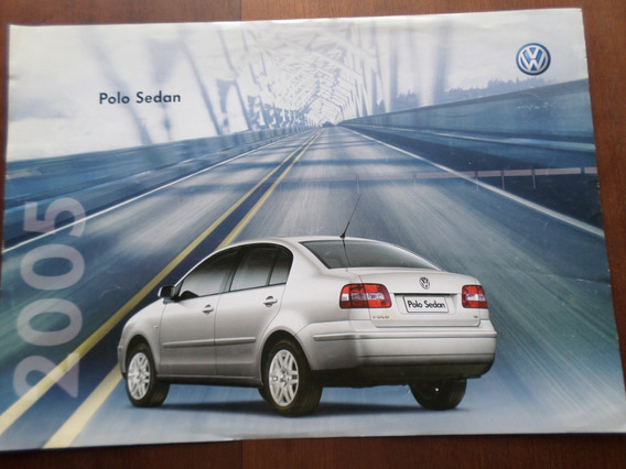 Folder Original Volkswagen Polo Sedan