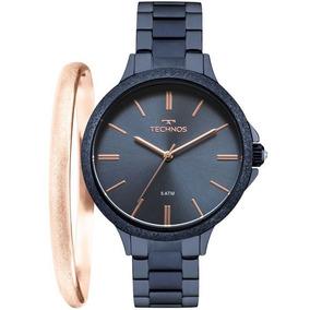 Relógio Technos Feminino Fashion Trend Azul - 2035mme/k4a