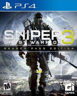 Sniper Ghost Warrior 3 Ps4 Fisico Juego Playstation 4