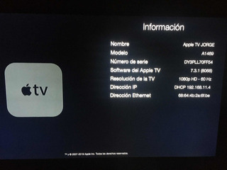 Apple Tv Usado