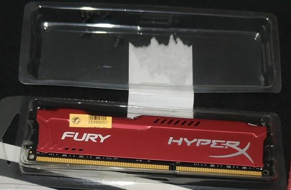 Memória Ram Kingston Hyperx Fury 8gb Ddr3 1600mhz