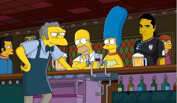 Retrato De Los Simpson Personalizado