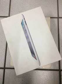 Caixa Vazia Apple Ipad 2 A1396 Wifi 3g 16gb Branco + Manual