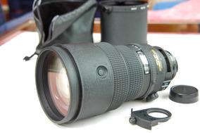 300mm 2.8 Lente Clara Nikon Fixa Afs Zoom Tele Vr 400mm D4