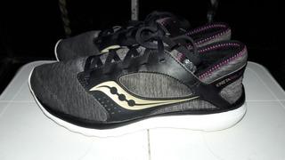 Tenis Saucony Kineta Relay ( Grises)talla 27cm