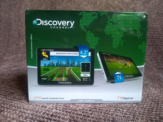 Gps Automotivo Discovery Channel 4.3 Tv Digital