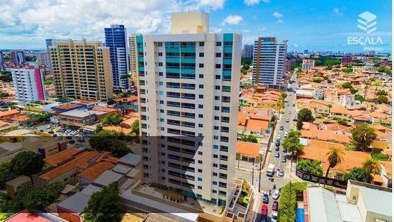 Apartamento Com 3 Quartos À Venda, 118 M², Novo, 3 Vagas, Financia - Fátima - Fortaleza/ce - Ap1204
