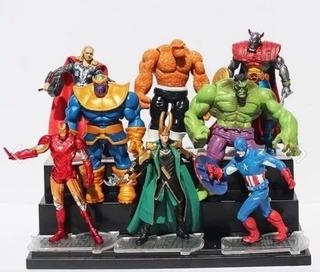 Marvel Avengers Pack De Figuras Tipo Marvel Universe Thanos