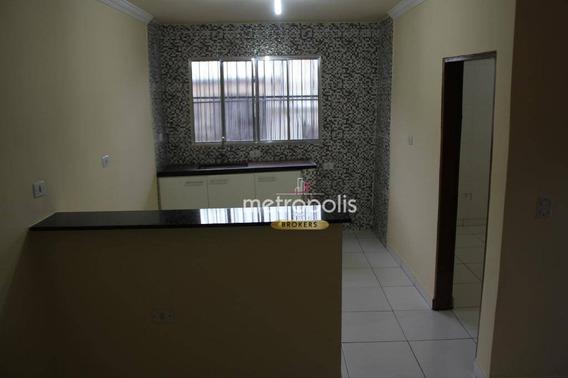 Casa Com 1 Dormitório Para Alugar, 50 M² Por R$ 1.100,00/mês - Boa Vista - São Caetano Do Sul/sp - Ca0358