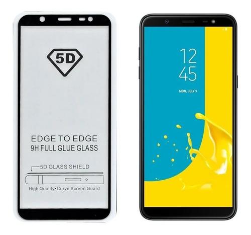 Vidrio Templado 5d 9d Full Samsung J8 Cubre 100%