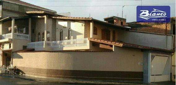 Sobrado Residencial À Venda, Conjunto Inocoop-bonsucesso, Guarulhos. - So0933
