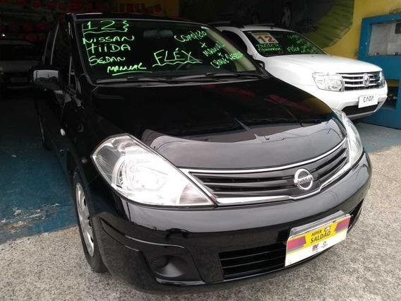 Nissan Tiida Sedan 1.8 Flex Manual Completo - Lindo