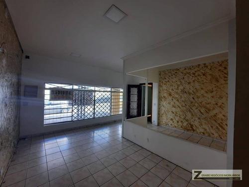 Casa Para Alugar, 130 M² Por R$ 2.800,00/mês - Jardim São Paulo - Guarulhos/sp - Ca0084