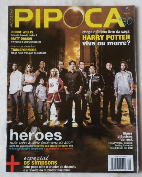 Revista Cinema Pipoca Moderna Nº 30 Capa Heroes
