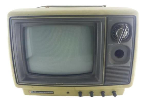 Tv Antiga Semp Toshiba 10p - Com Defeito