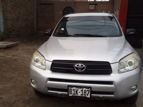 Vendo Toyota Año 2007 Modelo Rav4 4x4 Gasolinero