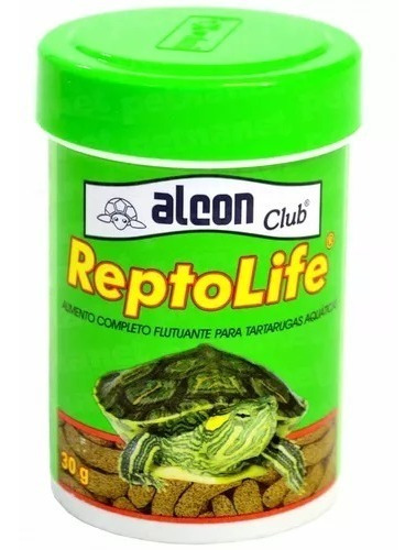 Alimento Tortugas De Agua Reptolife 270gs Labcon Brasil