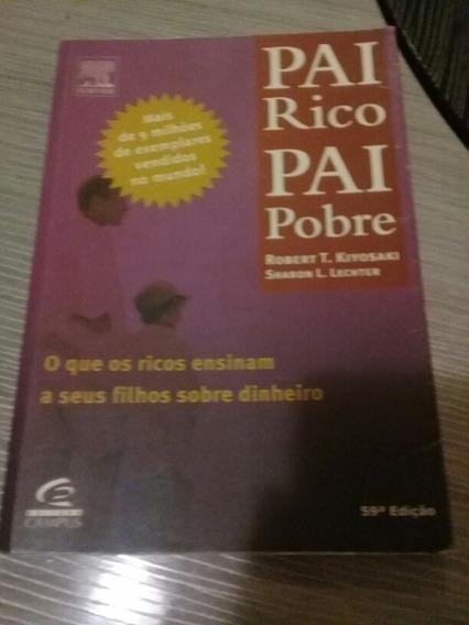 Vendo Livro Pai Rico Pai Pobre