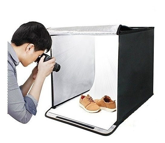 Light Box Kit Foldable Studio Portable Photo 40cm