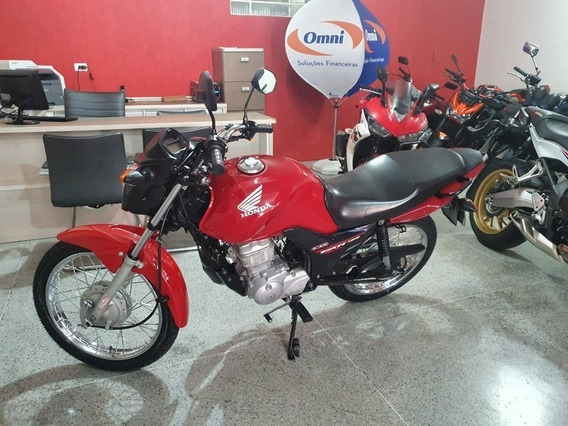 Honda Cg 125 Fan Ks Vermelha 2015