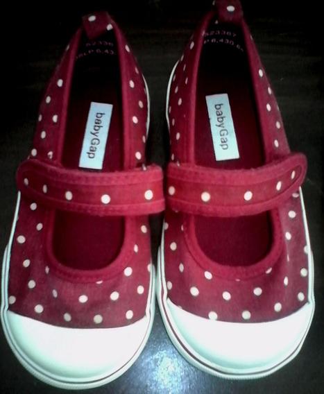 Zapatos Niña Baby Gap Tallas 24 Y 25 Desde 4vrd Pregunte