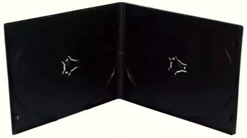 Imagen 1 de 2 de Estuche Para Cd Dvd Plástico Color Negro Baratos