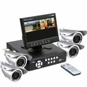 Kit Cftv Com 4 Câmeras 90.02.01.042 - Hdl