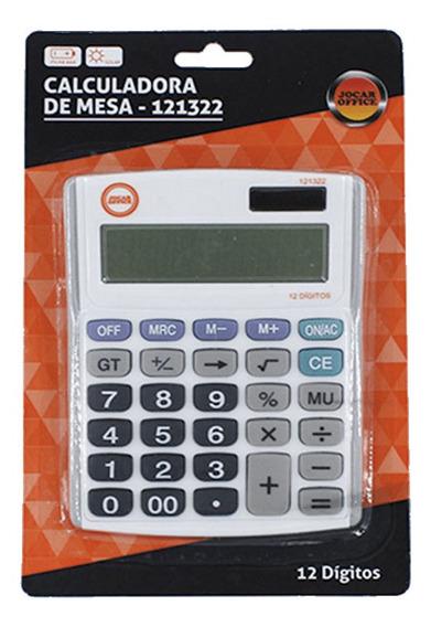 Calculadora De Mesa 12 Dígitos Jocar Office