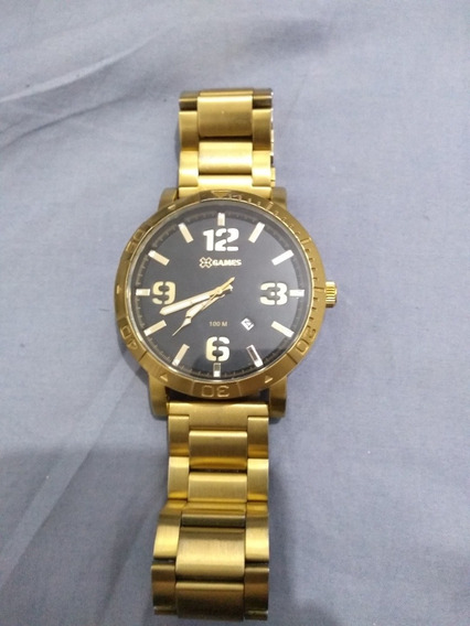 Relógio X Games Dourado Novinho