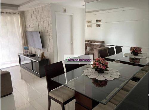 Imagem 1 de 30 de Apartamento Com 2 Dormitórios À Venda, 62 M²  - Ipiranga - São Paulo/sp - Ap5475