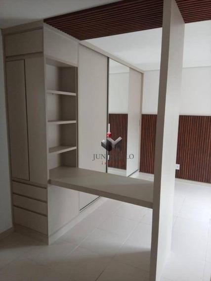 R$ 800,00 - Edifício Monte Santo - Flat Com 1 Dormitório Para Alugar, 30 M² - Nova Aliança - Ribeirão Preto/sp - Fl0013