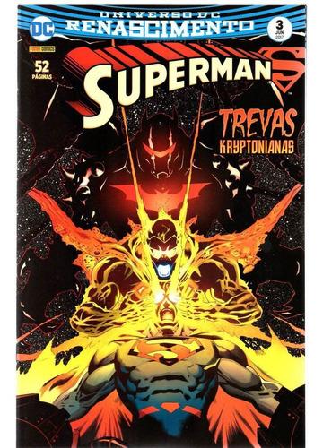 Superman 3 3ª Serie Renascimento Panini Bonellihq Cx438 H18