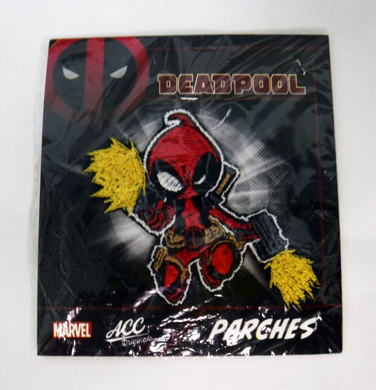 Parche Transferible Marvel Deadpool Kid Shooting Accoriginal