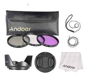 Canon Powershot Sx530hs / 520hs/kit Filtros + Adaptador