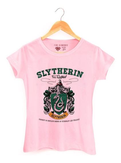 Camiseta Camisa Harry Potter Slytherin Serie Hermione