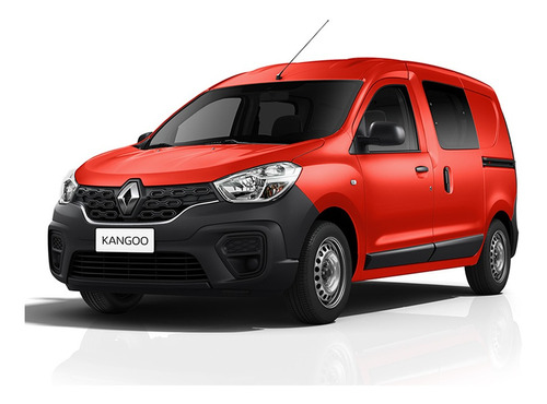 Renault Kangoo Ii Express Emotion 5a 1.6 Nafta Rojo Contado