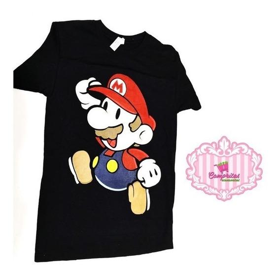 Playera Mario Bros M
