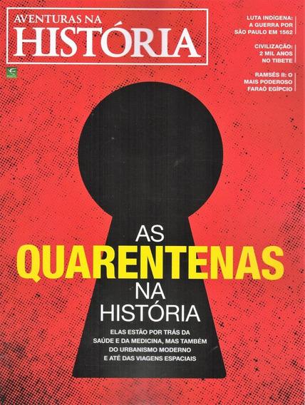 Aventuras Na História Nº 206 - As Quarentenas Na Historia