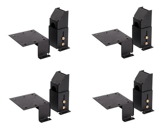 4pcs Suporte Trava Portao Automatico Facil Instalacao Ipec