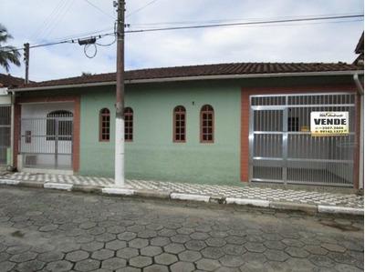 Casa Ampla 300m Da Praia Com 4 Dorms - Área Central - 1128